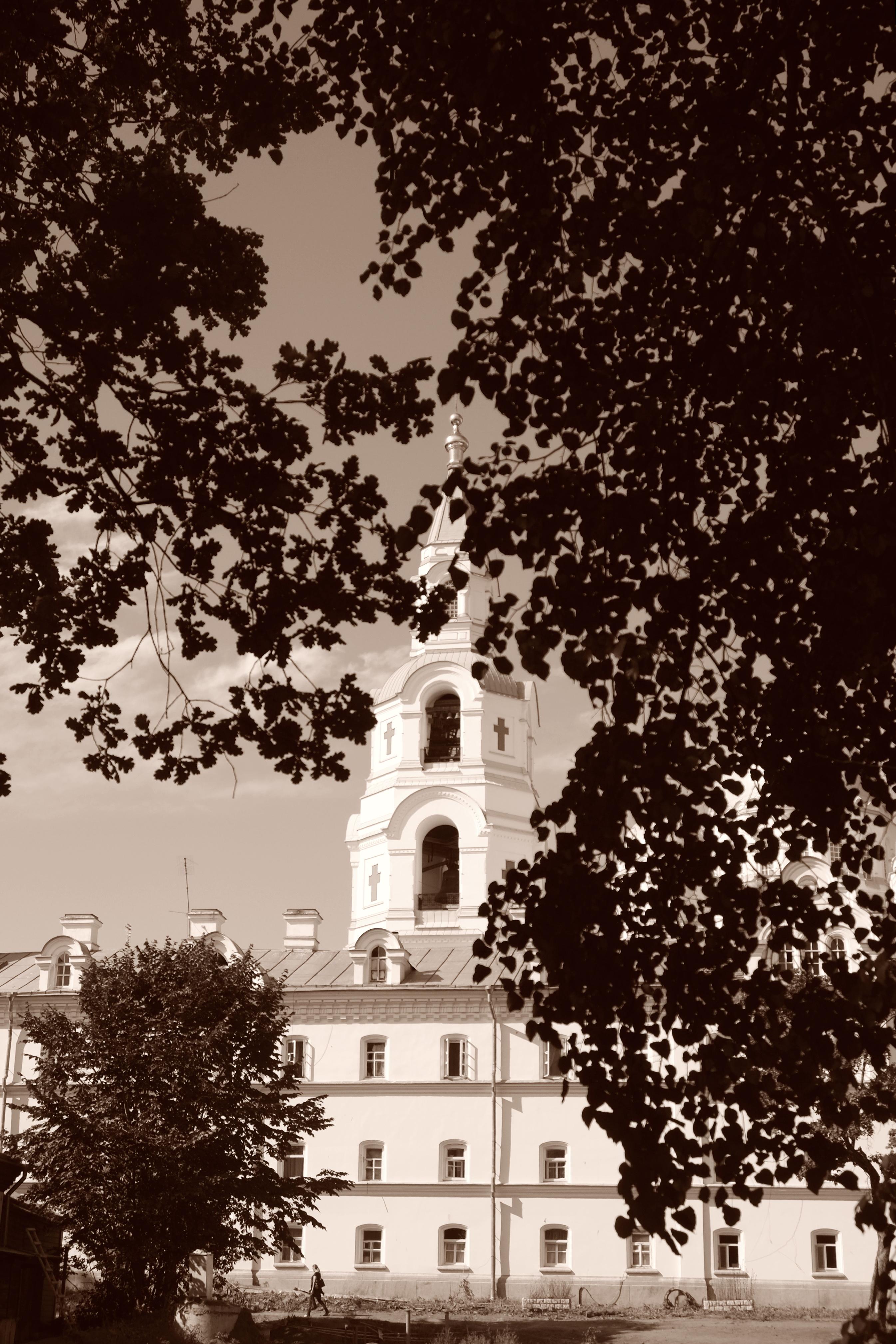 Вид на колокольню Спасо-Преображенского собора