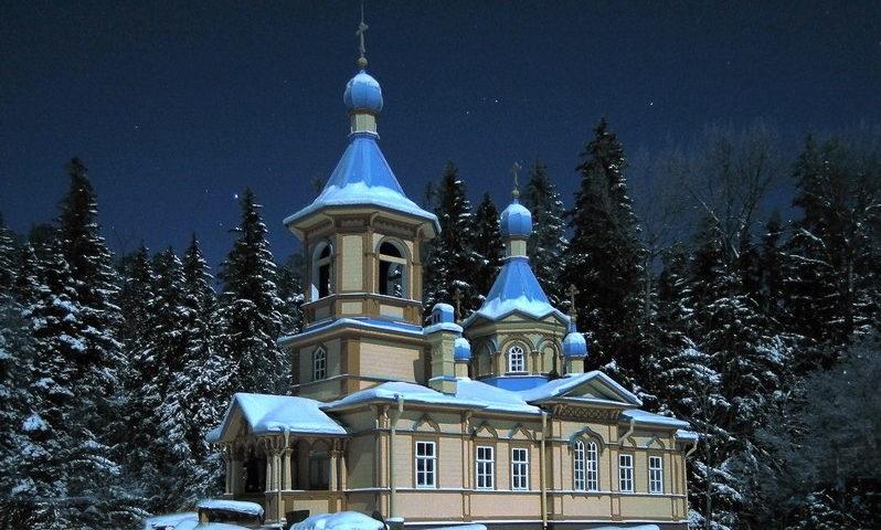 Успенская церковь Гефсиманского скита