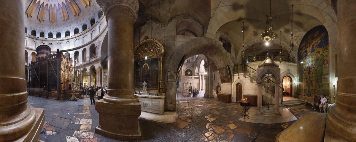 Храм Гроба Господня в Иерусалиме. Кувуклия.