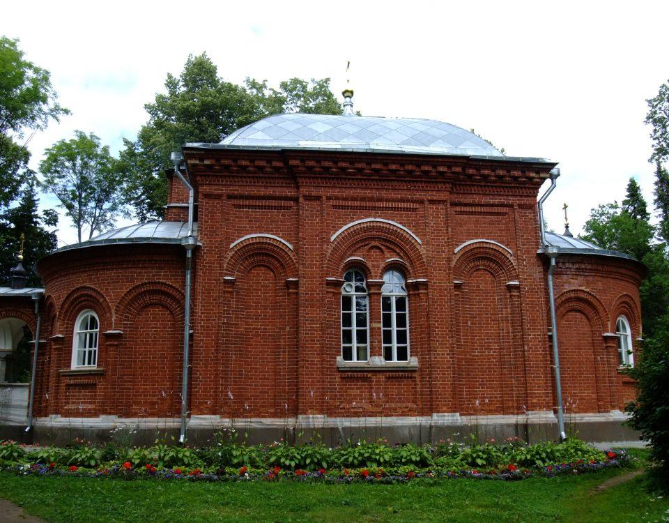 Игуменское кладбище. Церковь преподобных отцов, в посте и подвиге просиявших