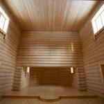 Строительство храма на Порфирьевском острове