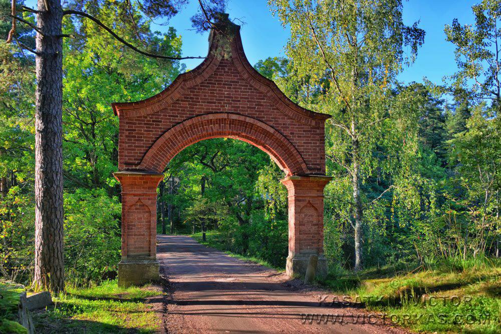 Владимирский мостик. Валаам.