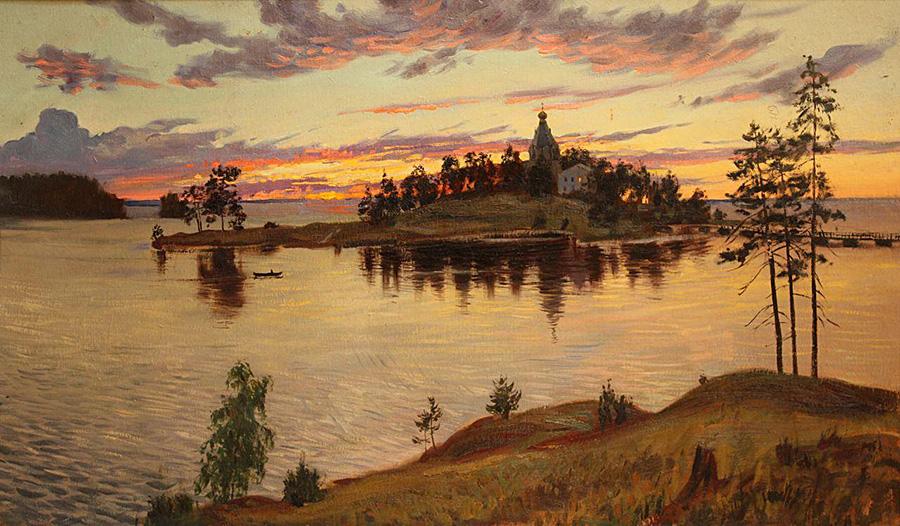 Татьяна Юшманова Вечер на Вааламе