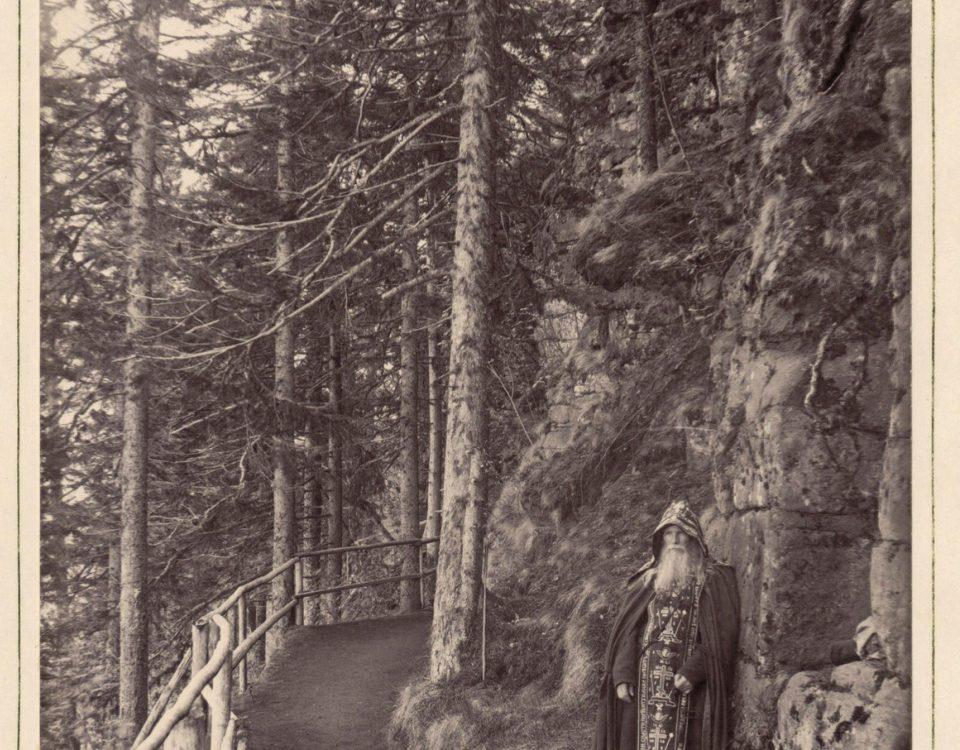 "Монах-молчальник Альбом ""Валаам и тамошний монастырь"" (1887)"