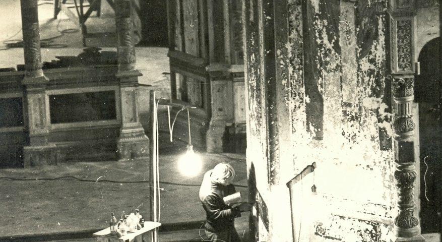 Консервация настенной живописи Спасо-Преображенского собора Валаамского монастыря 1983—1984