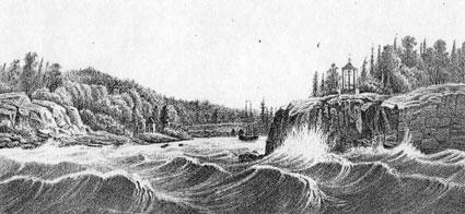 Валаам . Никоновский залив