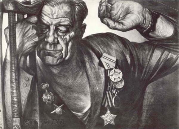Автографы войны Г.Доброва.Инвалиды на Валааме
