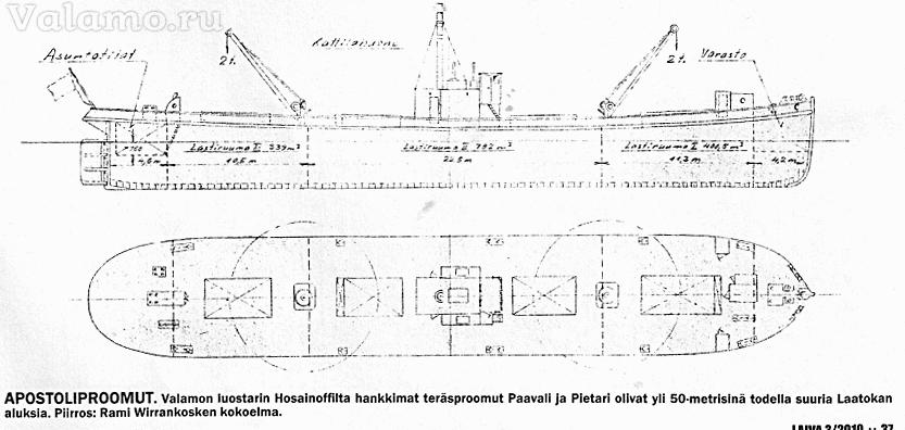 32-Валаамские пароходы XX в