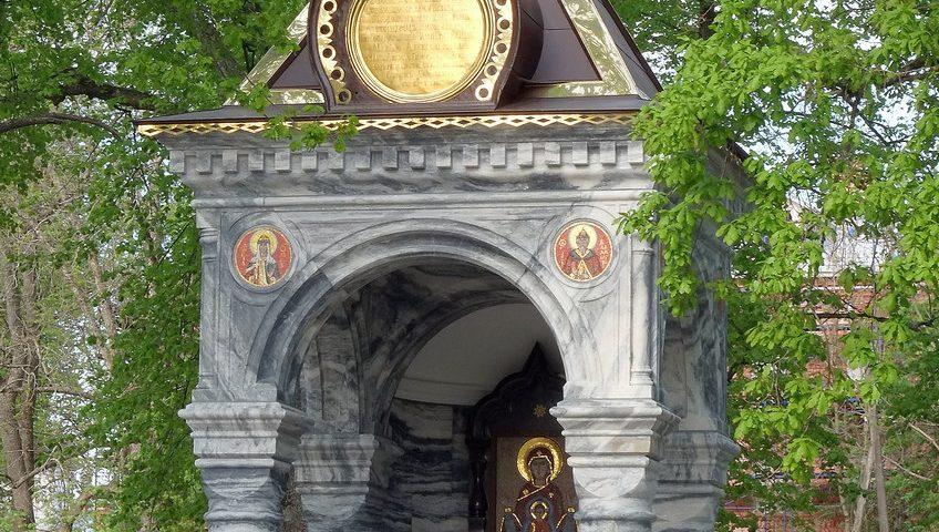 Часовня Знамения после реставрации. Валаам. 2018.