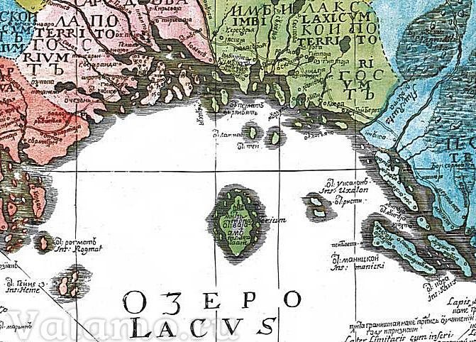 Княжество Корельское и остров Валаам.