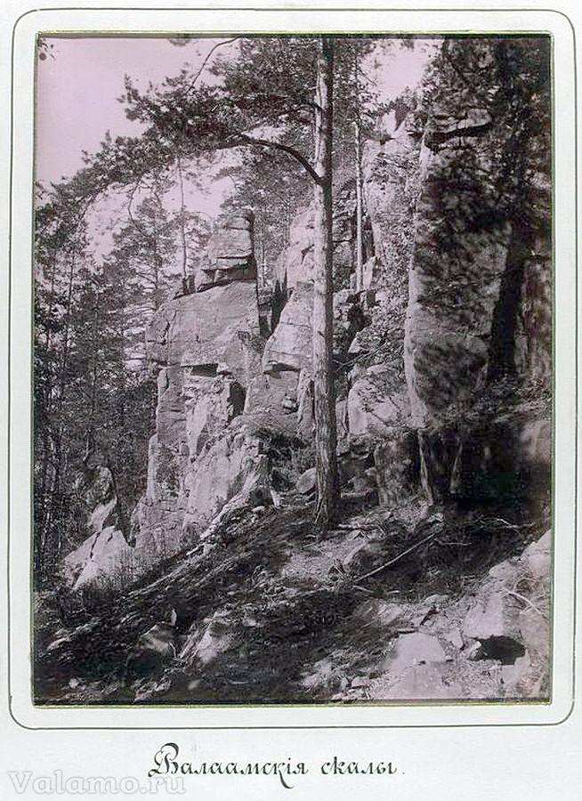 Валаамския скалы (