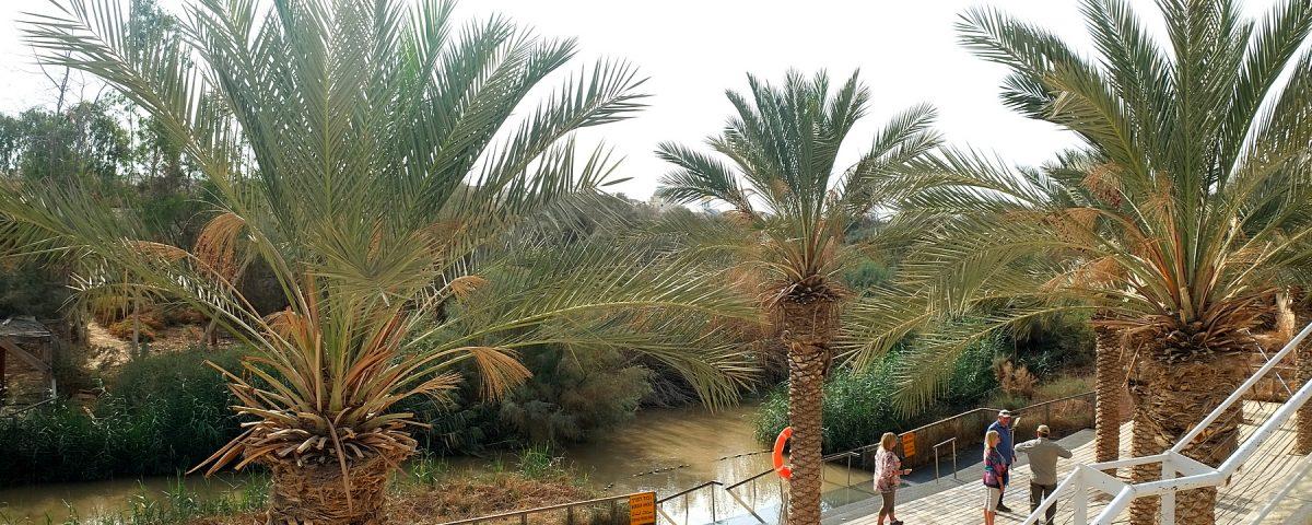 Река Иордан. Место Крещения Иисуса Христа.