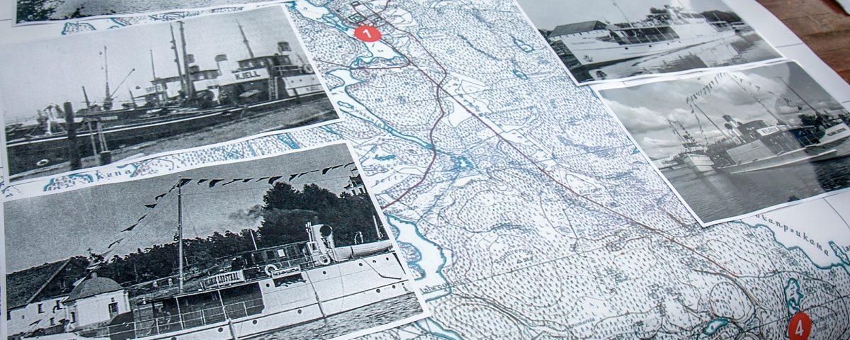 Советско-финская война. Валаам. Финские порты на карте.