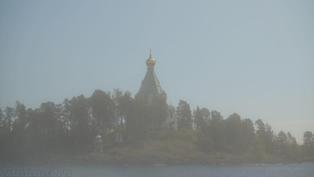 Нетуманный Валаам. Вход в Монастырскую бухту. 2017. Фото: Я. Гайдукова.