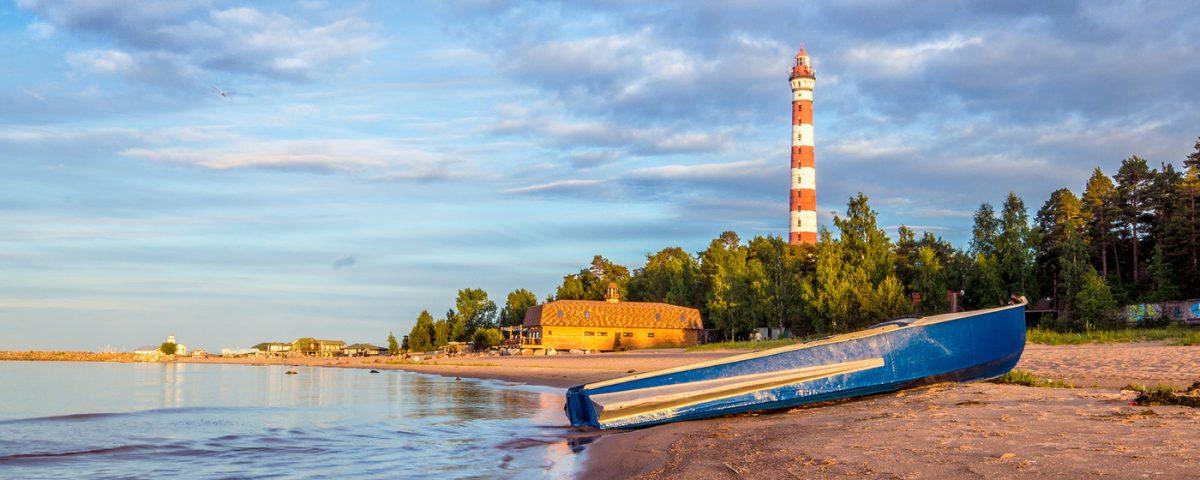 Осиновецкий маяк. Современный вид.