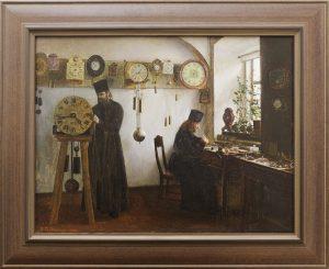 v. a. bondarenko. valaamskie masterskie. chasovaya masterskaya. 1898