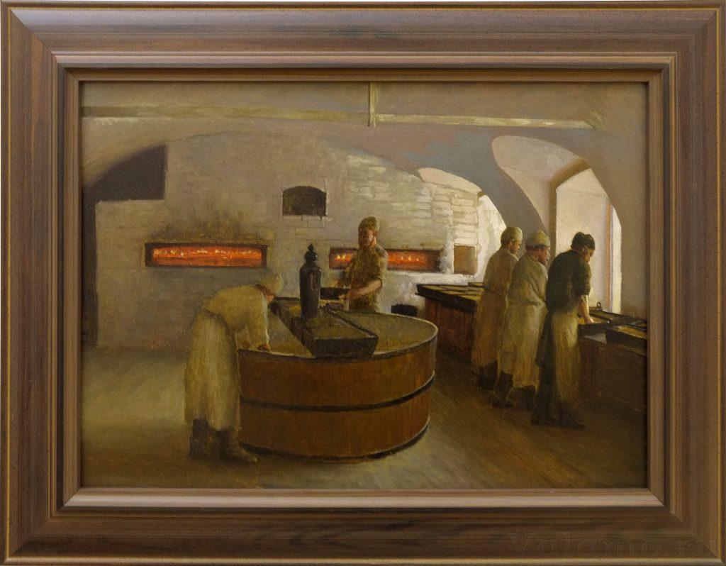 В. А. Бондаренко. Валаамские мастерские. Пекарня. 1898