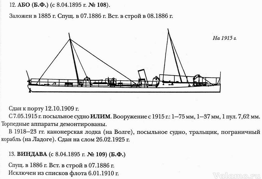 minonoscy v ladozhskom ozere. aboi 108 109