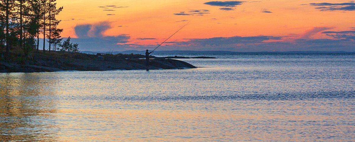 rybak na valaame. foto i. sazeev.2015