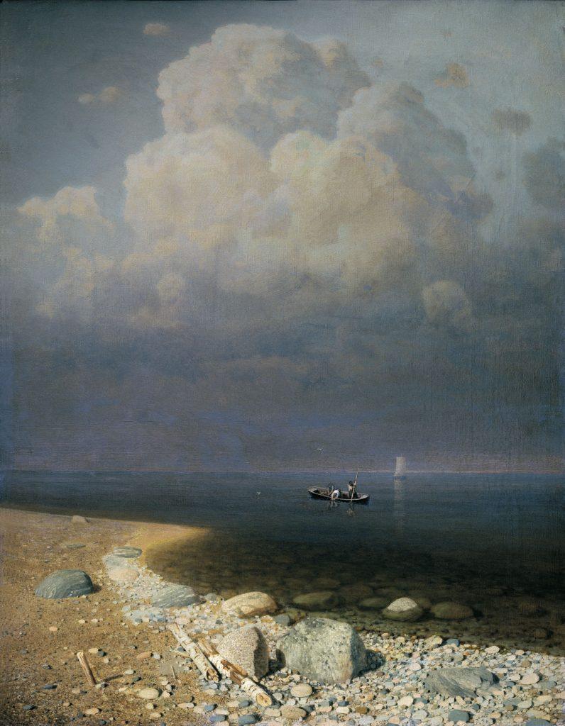 Куинджи А. И. Ладожское озеро. 1873. 79,5×62,5. ГРМ