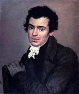 К. А. Тон на портрете К. Брюллова