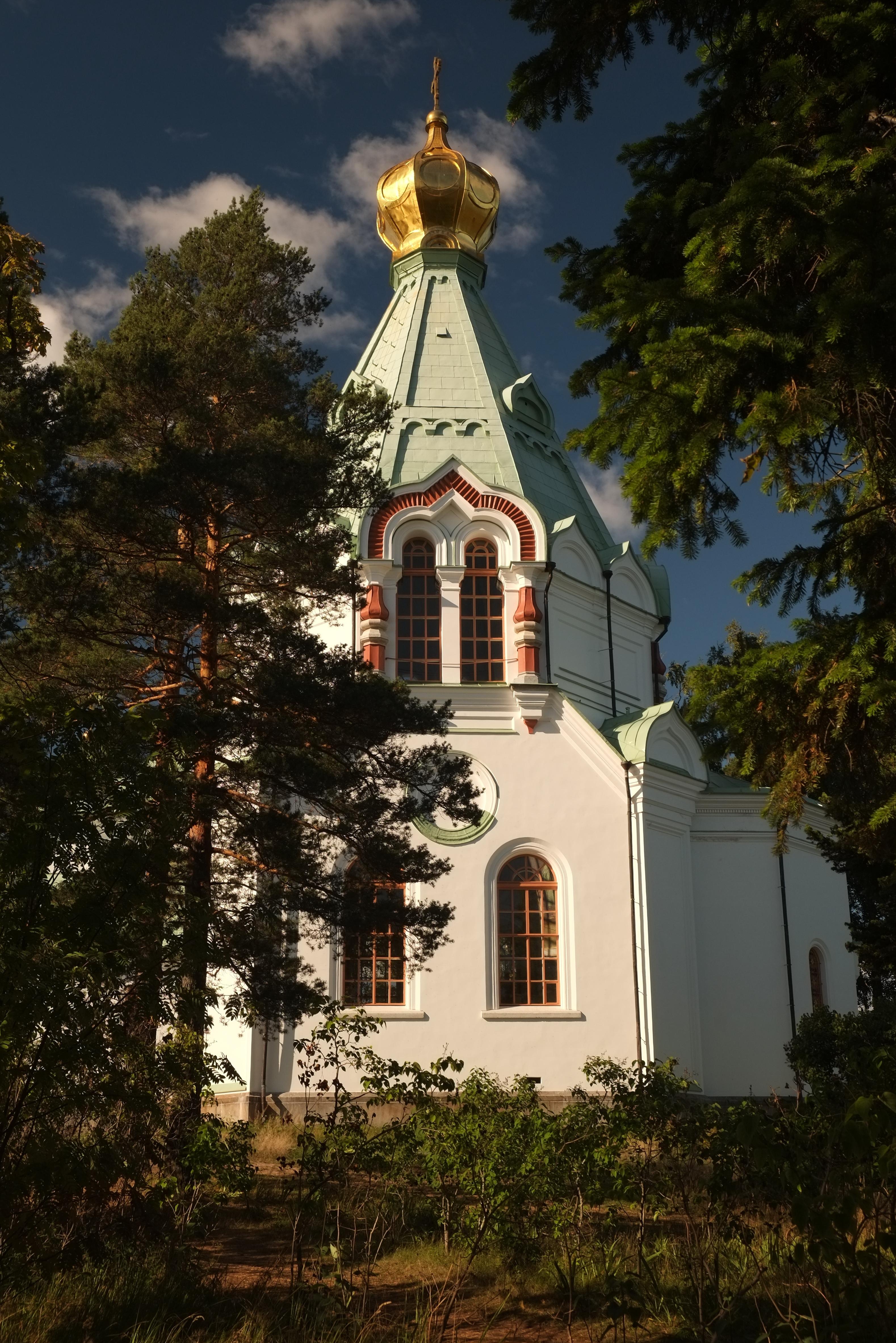 Никольский храм. Я. Гайдукова. Валаам. Красиво