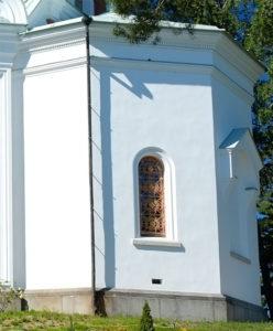 алтарная апсида Никольского храма. Валаам.
