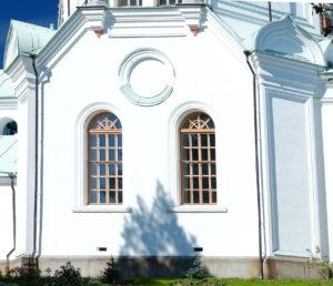четверик со скошенными углами Никольского храма. Валаам.