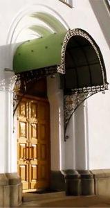 перспективный портал Никольского храма. Валаам.