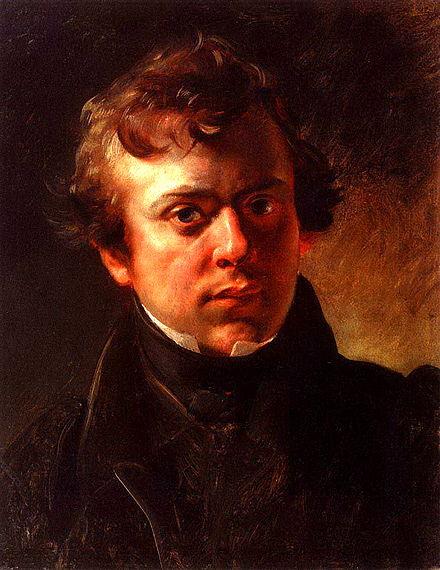 Горностаев Брюллов Портрет 1834