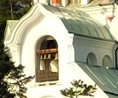 Звонница Никольского храма. Валаам.
