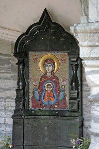 Икона Божией Матери Знамение в Знаменская (Царская) часовне у Валаамского монастыря