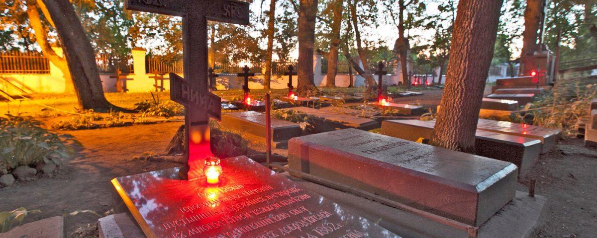 Старое братское кладбище, Валаам, могилы