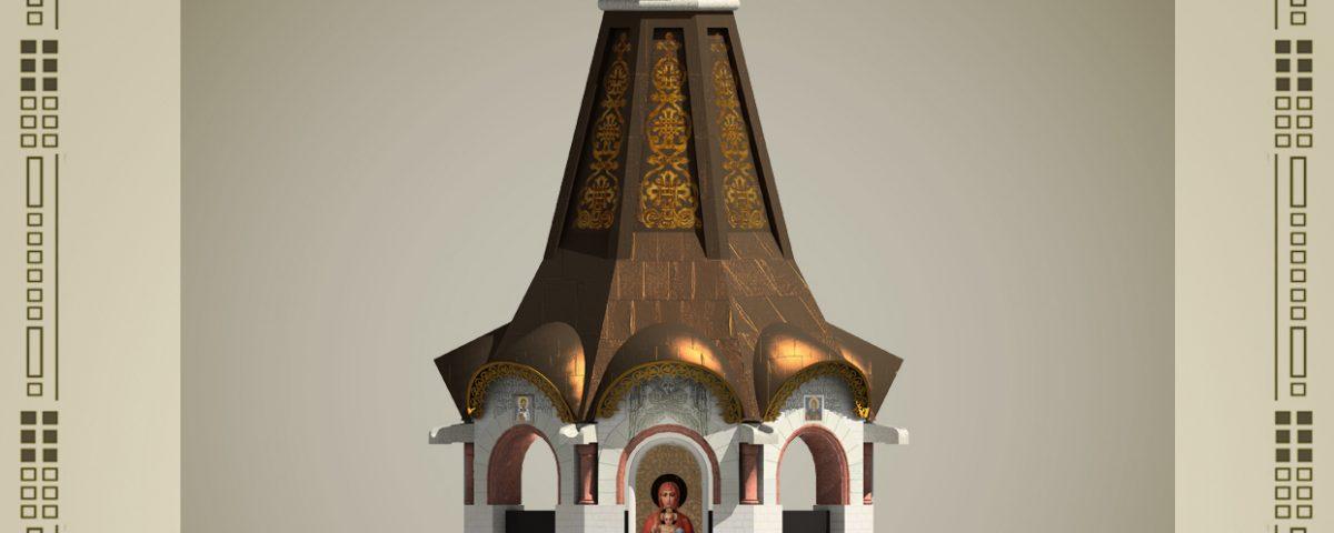 Проект часовни Валаамской иконы А. А. Анисимова