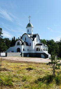 Храм Александра Невского на Валааме