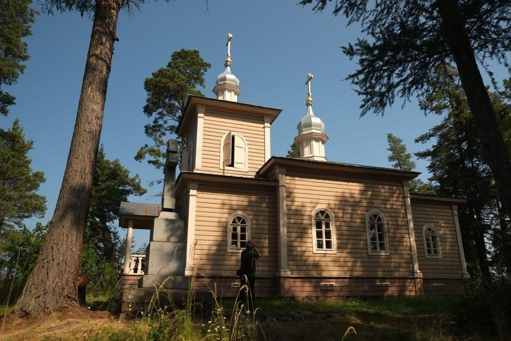 Храм прп. Алескандра Свирского. Валаам. Святой остров. Фото: Я. Гайдукова.