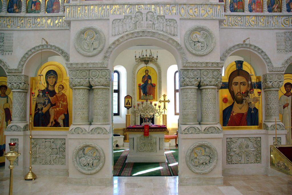 Владимирский скит Валаамского монастыря иконостас