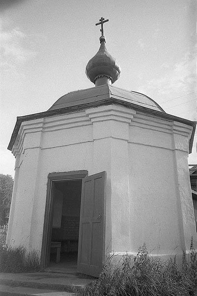 Благовещенская часовня 1983-разрушенный Валаам-Яковчук 63