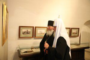 открытие выставки во Владимирском скиту Валаам