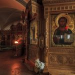 Икона XVII в. — подарок Валааму Н. Ельциной
