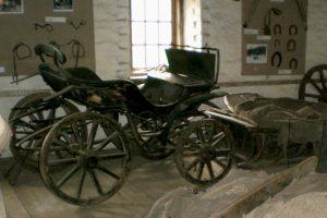 Валаамская бричка. Выставка в каретно-конюшенном доме