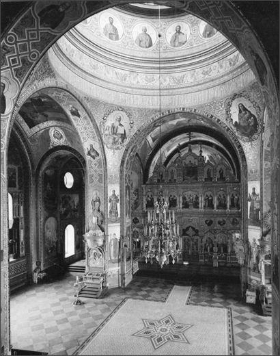 Роспись верхнего храма, Спасо-Преображенского собора.