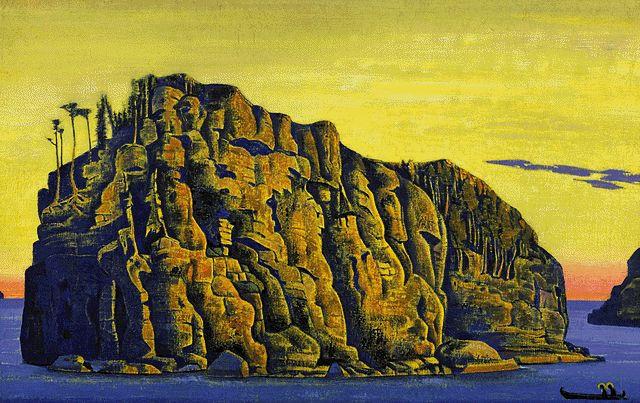 Н. К. Рерих. Святой остров (1918). Валаам.
