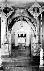 Валаам . В нижнем храме Воскресенского скита, Кувуклия