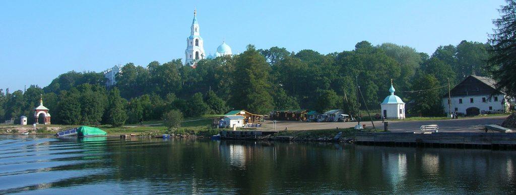 Монастырская бухта Валаам 2006