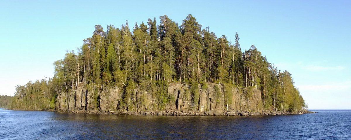О. Святой на Валааме, где находится пещера прп Александра Свирского
