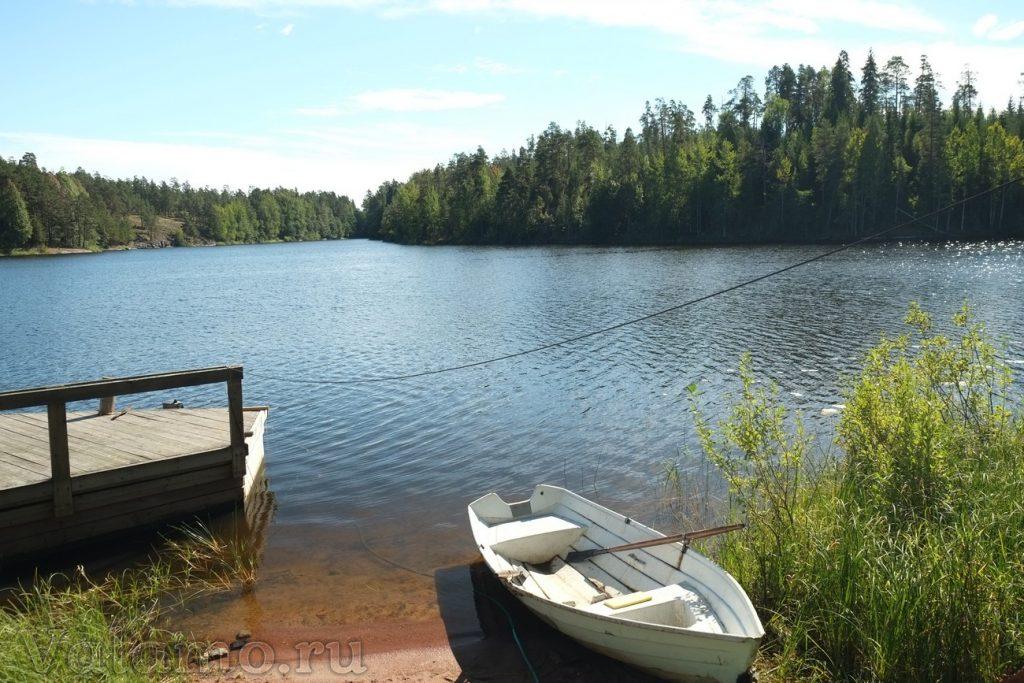 Вид на озеро Сисяярви со Смоленского скита. 2013. Фото: Я. Гайдукова.