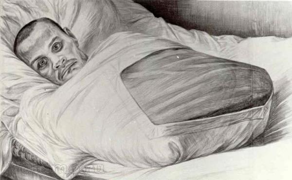 «Автографы войны» Геннадия Доброва. Как рождались портреты инвалидов на Валааме. Часть 6.  Сердоболь  Сердоболь, оцифровано впервые, художники на Валааме, инвалиды на Валааме, Добров
