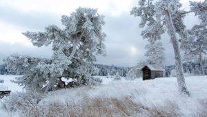 Никольский скит зимой Валаам