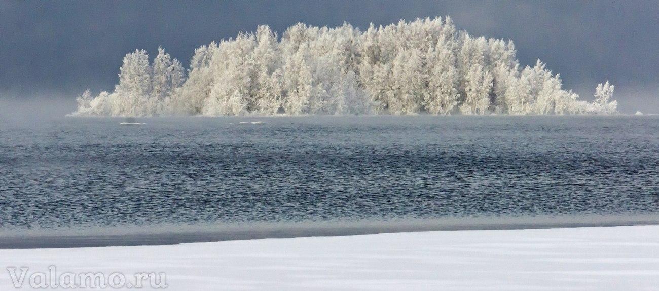 Валаам зимой